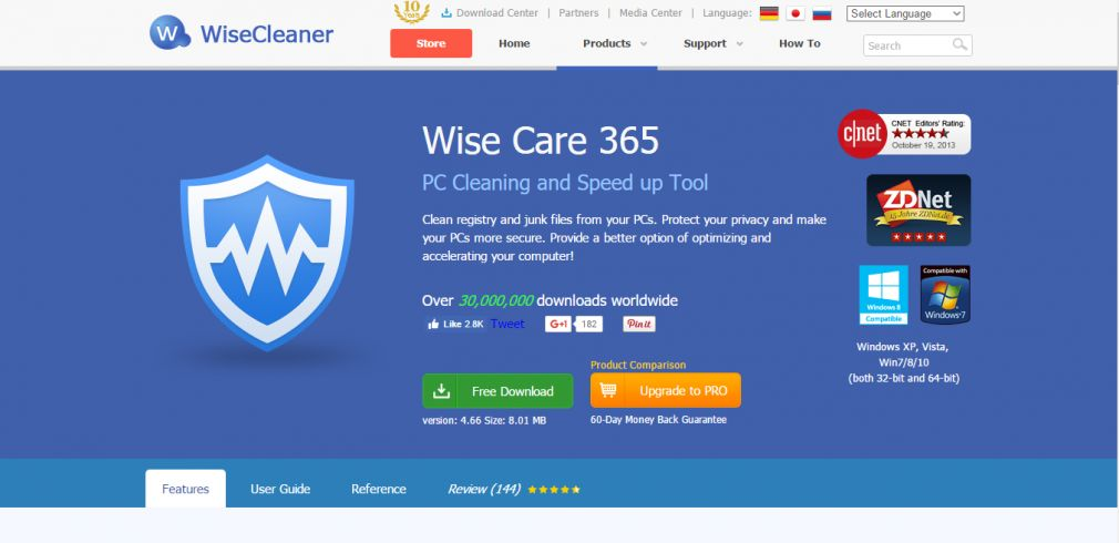 Wise Care 365 PRO v5.1.9.510 Special promotion
