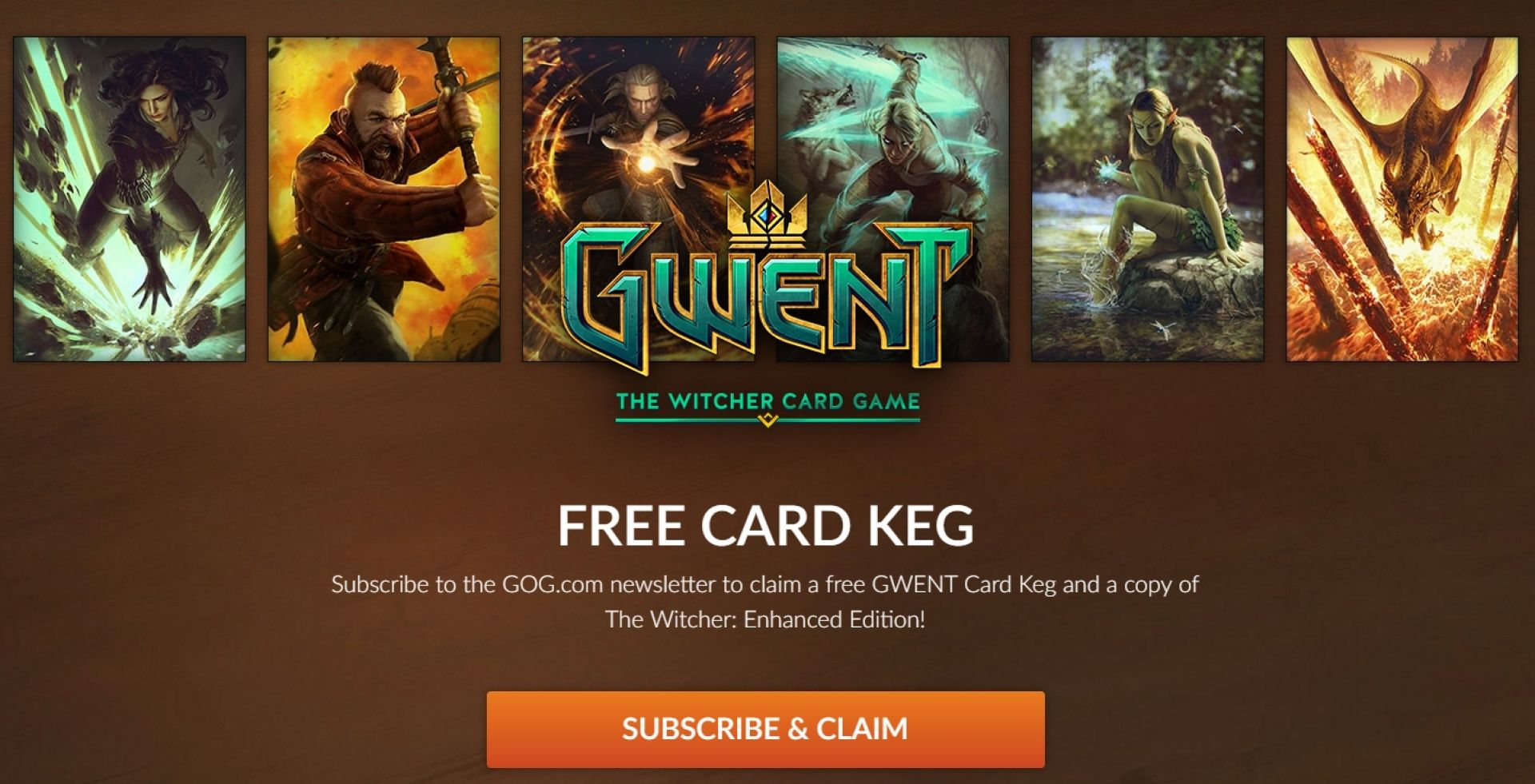 GOG.com dijeli The Witcher: Enhanced Edition ako instalirate igru GWENT: The Witcher Card Game